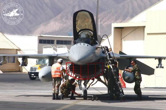 F-16 Chile - foto FACh