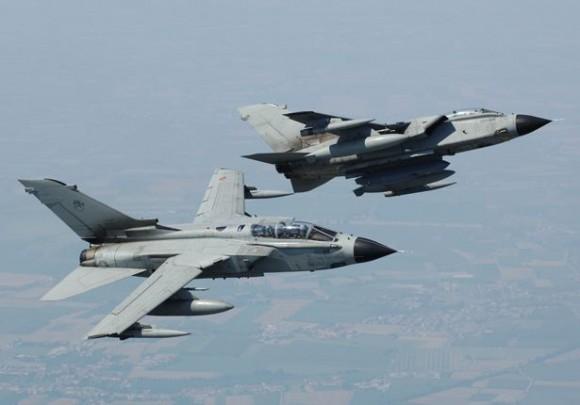Jatos Tornado - foto Força Aérea Italiana