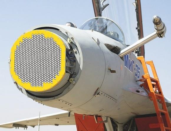 MiG-35 radar Zhuk-Ae - foto RAC MiG