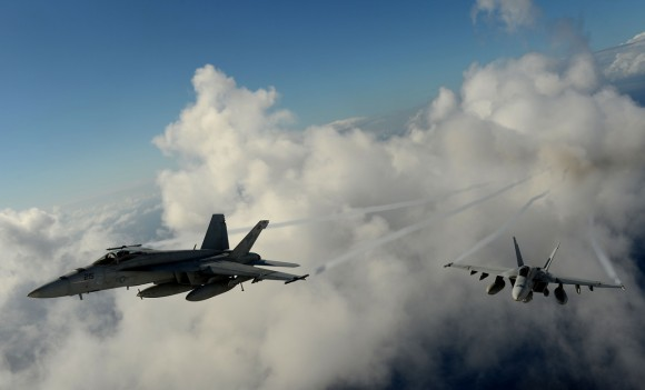 Super Hornet esquadrão Tophatters - foto 2 USN