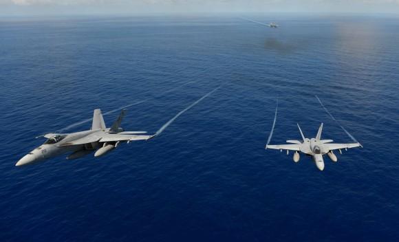 Super Hornet esquadrão Tophatters - foto 3 USN