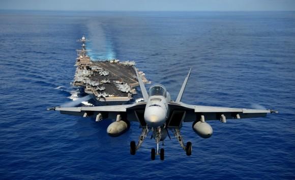 Super Hornet esquadrão Tophatters - foto 5 USN