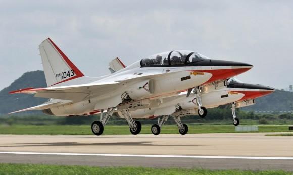 T-50 Golden Eagle - foto K Tokunaga via Lockheed Martin