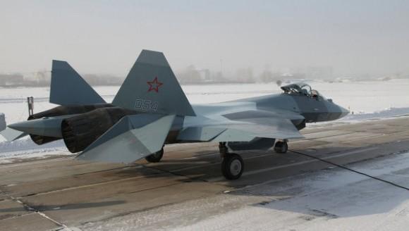 T-50 PAK FA - foto Sukhoi via RIA Novosti