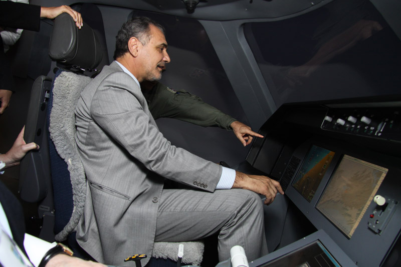 parlamentares conhecem projeto do KC-390 - foto FAB