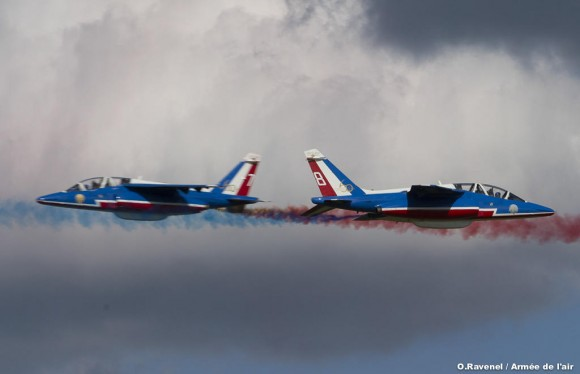 60 anos da Patrouille de France - foto 2 Força Aérea Francesa
