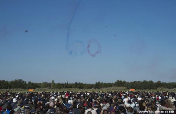 60 anos da Patrouille de France - foto 3 Força Aérea Francesa