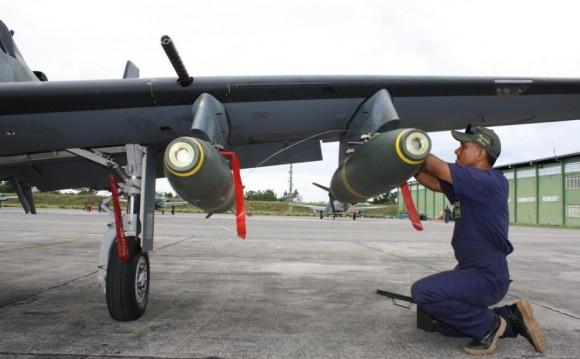 A-29 da FAB emprega pela primeira vez 4 bombas em Cachimbo - foto 4 FAB