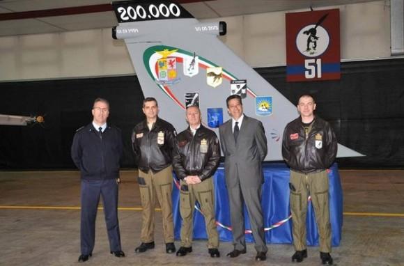 AMX 200.000 horas - foto 2 Força Aérea Italiana