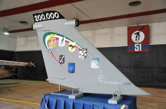 AMX 200.000 horas - foto 3 Força Aérea Italiana