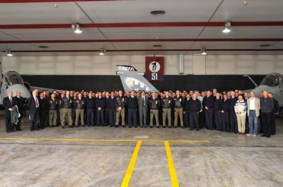 AMX 200.000 horas - foto Força Aérea Italiana