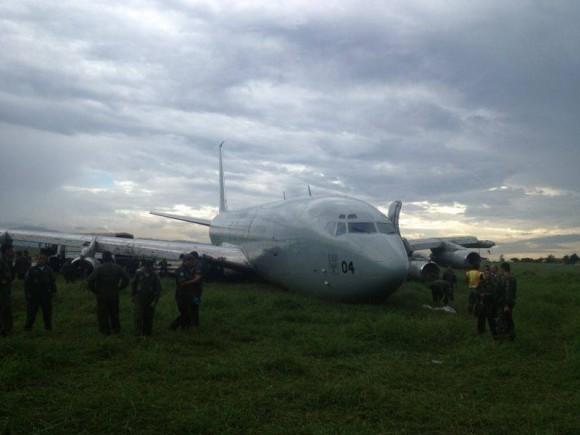 KC-137 acidentado no Haiti