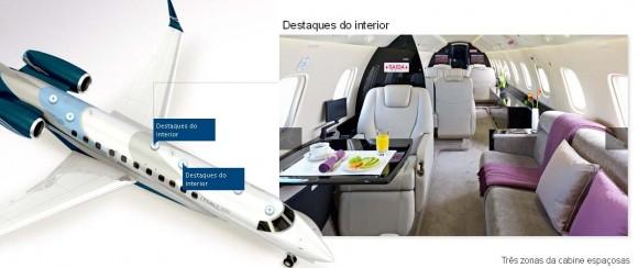 Legacy 600 - detalhe cabine - imagem 2 Embraer