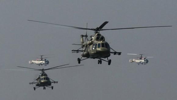 Mi-17 - foto via RIA Novosti
