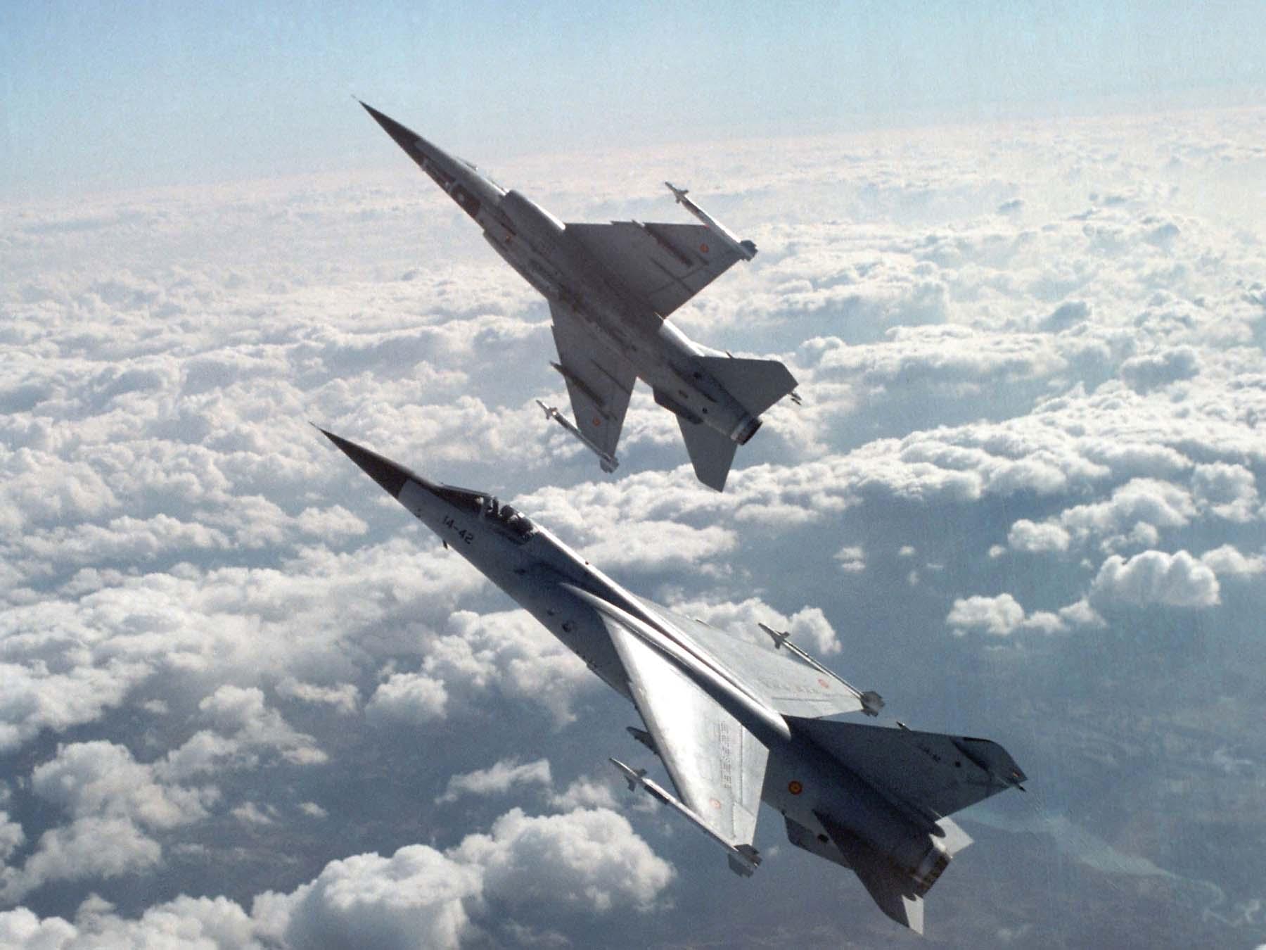 Mirage F1 - foto Força Aérea Espanhola - Ejercito del Aire