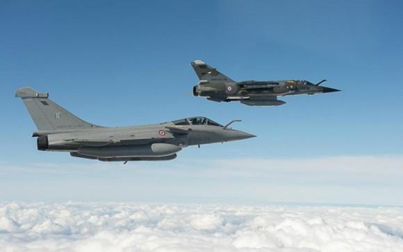 Rafale e Mirage F1 no Recce Meet 2013 - foto 2 Força Aérea Francesa