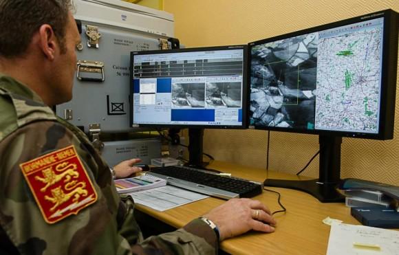 Recce Meet 2013 - análise de imagens digitais - foto Força Aérea Francesa