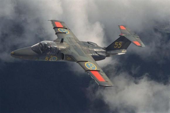 SK 60 - Saab 105 - foto Força Aérea Sueca