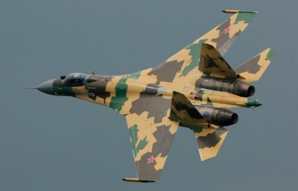 Sukhoi Su-35 - foto OAK - UAC