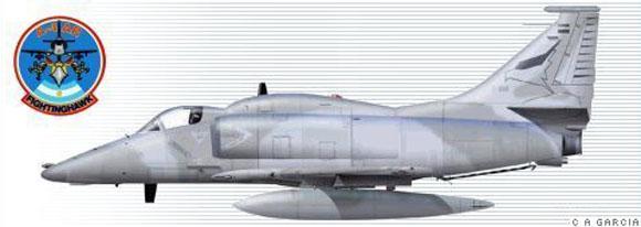 A-4AR - imagem FAA