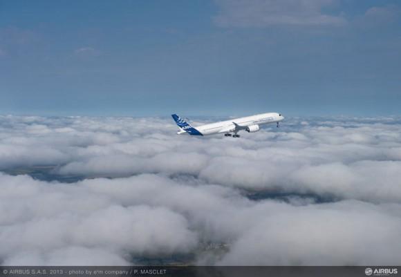 A350 voa pela primeira vez - foto 2 Airbus