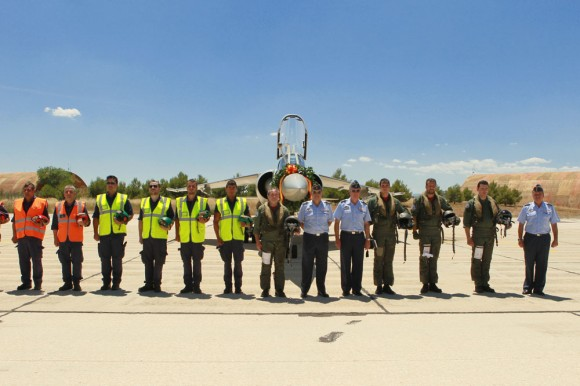 Despedida dos Mirage F1 em 23jun2013 - foto 6 Força Aérea Espanhola