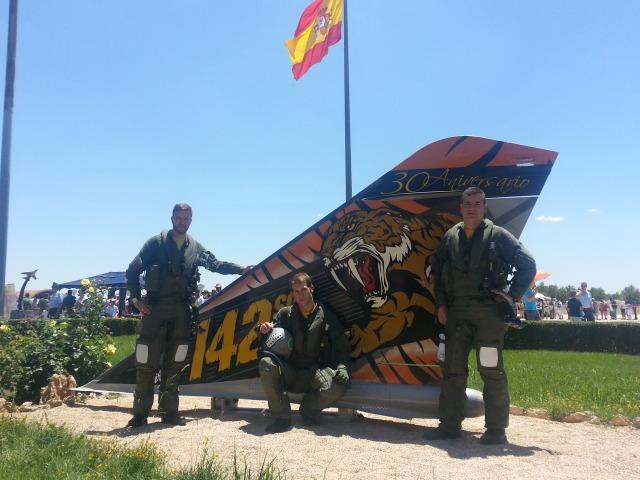 Despedida dos Mirage F1 em 23jun2013 - foto Força Aérea Espanhola