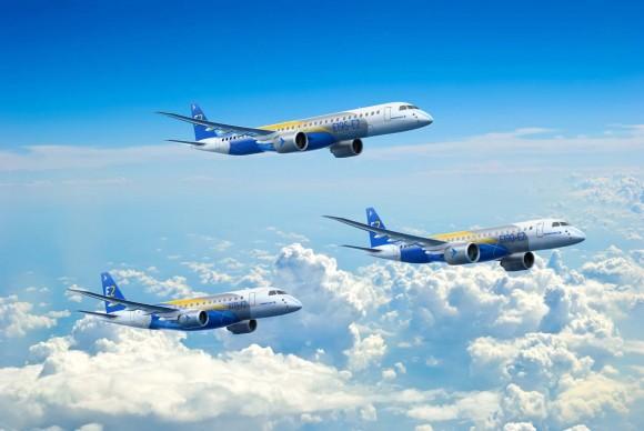 E-Jets E2 - imagem 1800x1200 Embraer