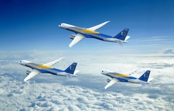 E-Jets E2 - imagem 2000x1288 Embraer