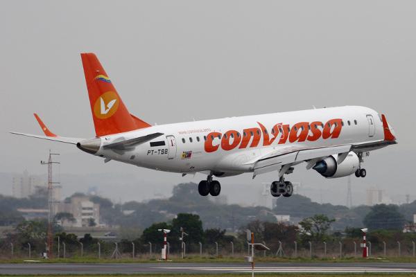 Embraer 190 Conviasa