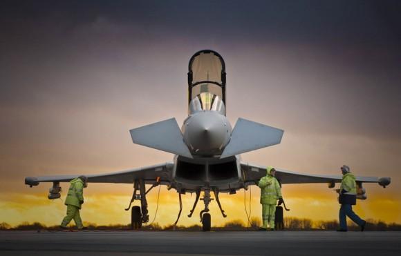 Eurofigher Typhoon - foto BAE Systems