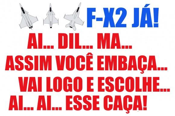 F-X2 JÁ - Ai Dil ma Assim você embaça