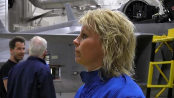 Inspeção em Gripen tcheco - cena 5 de vídeo da FMV