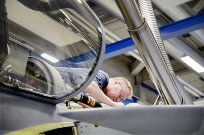 Inspeção em Gripen tcheco - foto 2 FMV