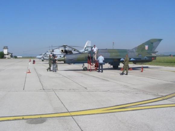 MiG-21 croata - foto 3 Ministério da Defesa da Croácia