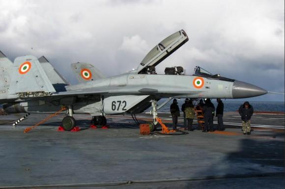 MiG-29 KUB indiano -foto RAC MiG