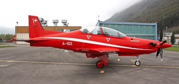 PC-21 - foto 2 Força Aérea Suíça