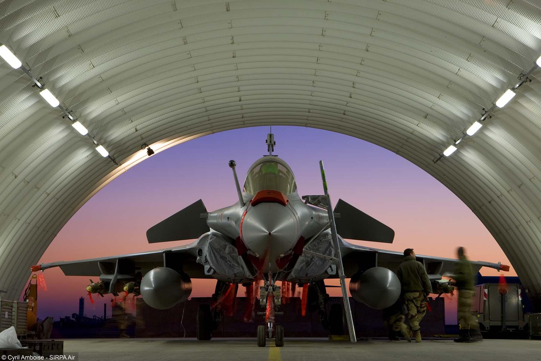 Rafale - foto 2 Cyril Amboise - SIRPA Air via Dassault