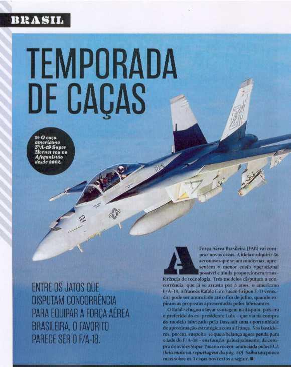 Revista Superinteressante Especial 318-A maio de 2013 - caças F-X2
