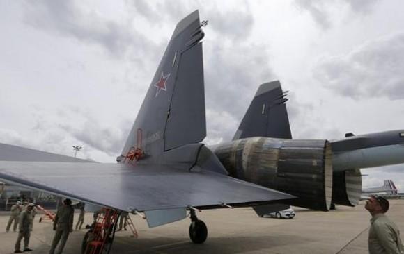 Su-35 em Le Bourget 2013 - foto 3 - P Rossignol - Reuters