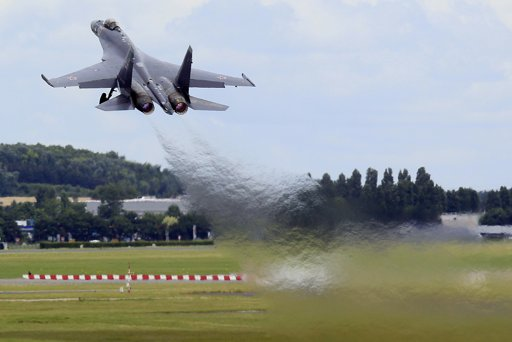 Su-35 em Le Bourget 2013 - foto 4 - P Rossignol - Reuters