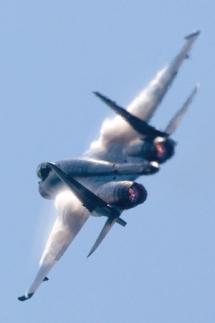 Su-35S em foto de nota sobre preparação para Le Bourget - foto 2 Sukhoi