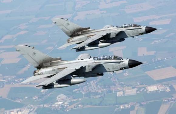 Tornados italianos - foto Força Aérea Italiana