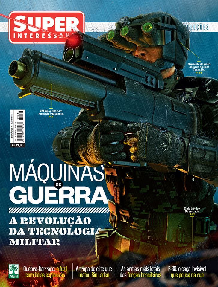 capa superinteressante 318-A Maquinas de guerra