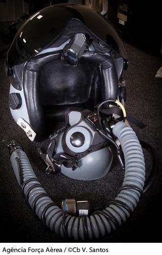 capacete F-5 HMD