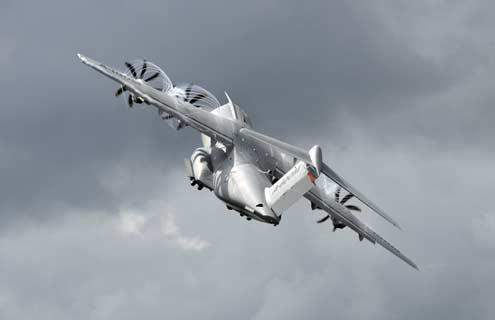 A400M - foto Airbus Military via DGA