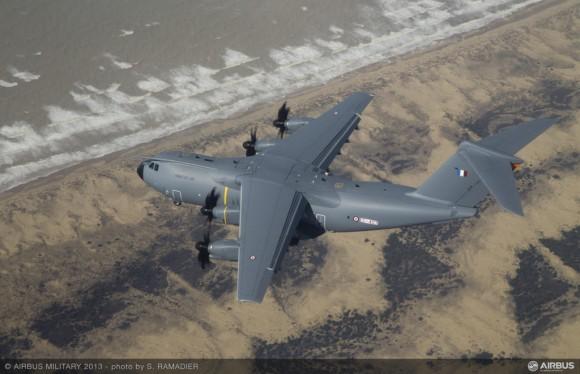 A400M - foto Airbus Military via Força Aérea Francesa