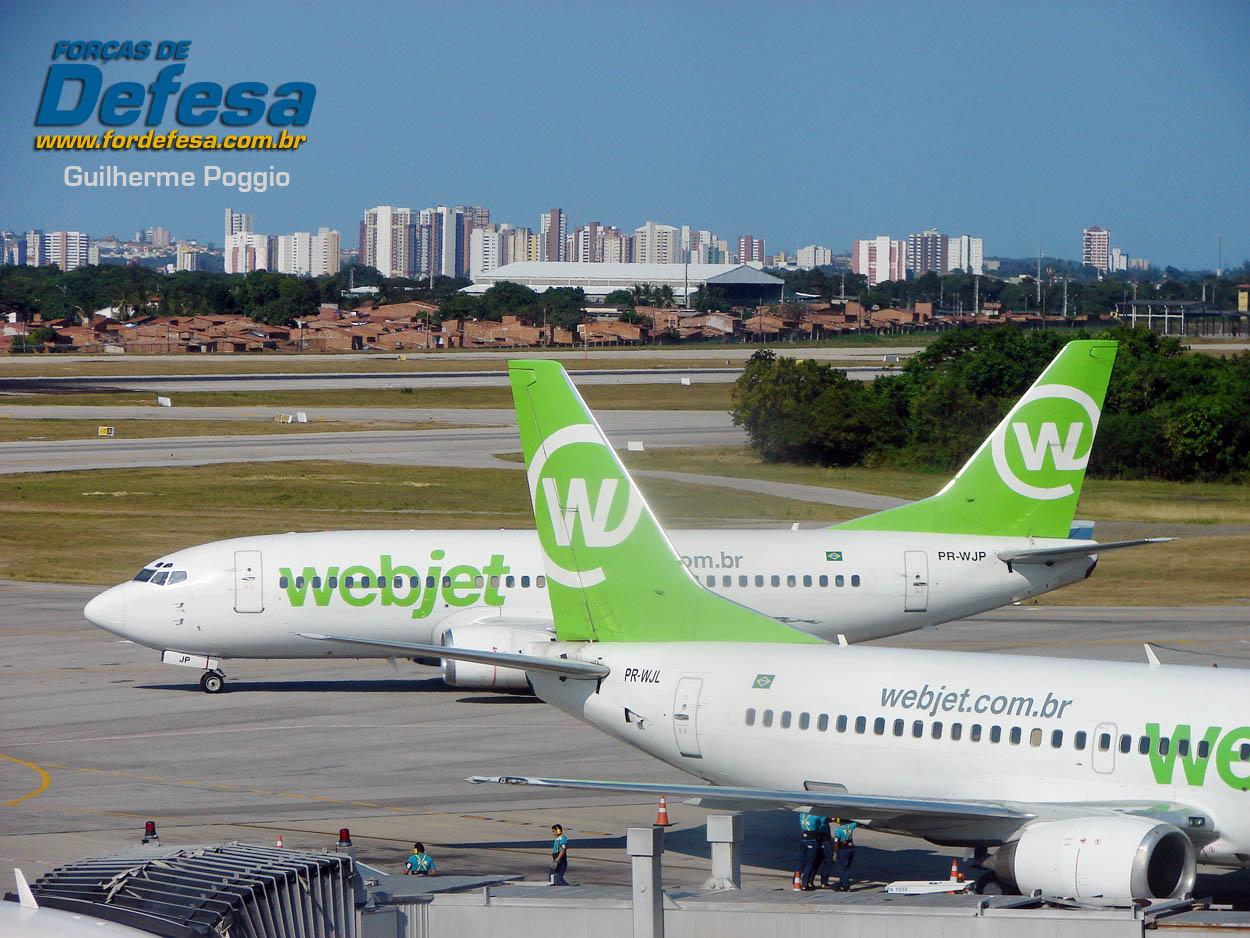Boeing 737 Webjet - aeroporto de Fortaleza