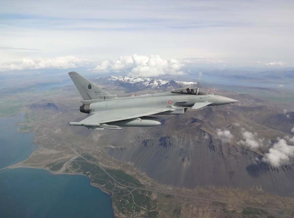 Caças Eurofighter italianos na Islândia - foto 4 Força Aérea Italiana