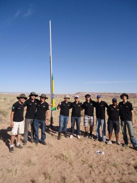 Equipe ITA ROCKET vence competição mundial de foguetes nos EUA - foto divulgação via R7